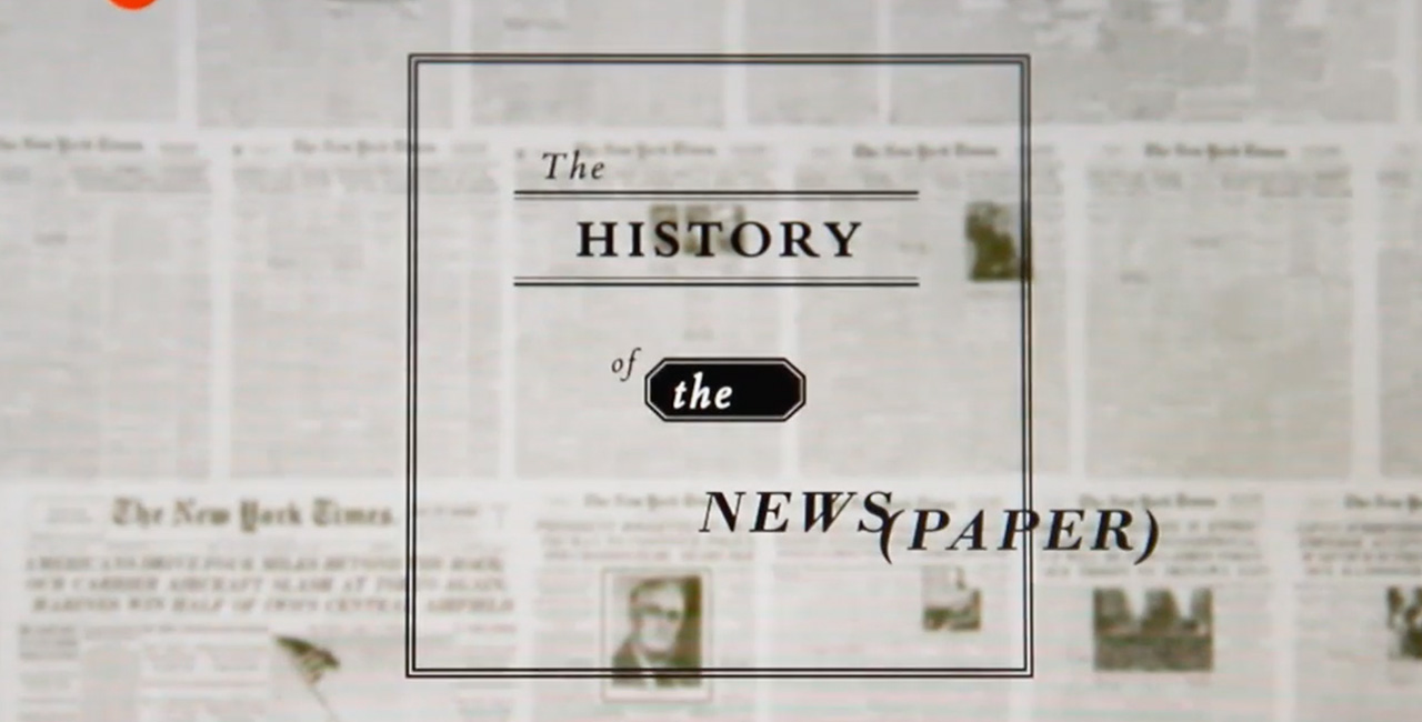 The History-Future of the Newspaper